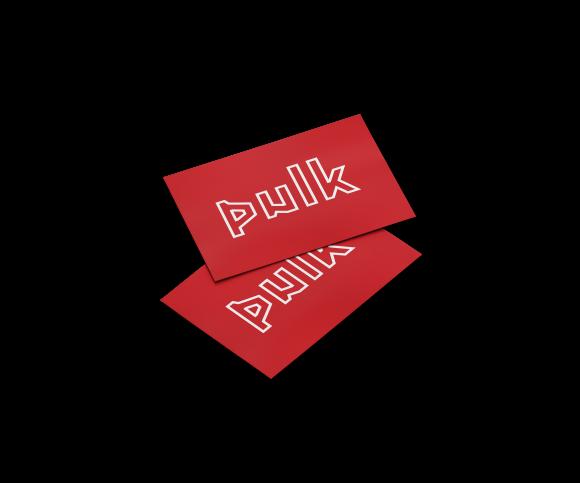 PULK Sticker